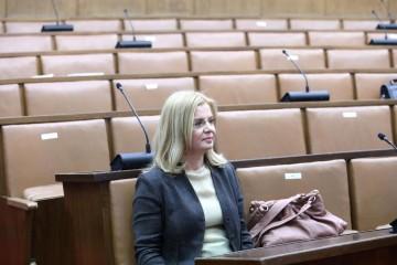 """ZLATA ĐURĐEVIĆ: """"Laž je da sam pitanje Vidović Krišto o statusu JNA ocijenila političkim"""""""