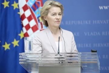 PLJUSKA VUČIĆU OD URSULE VON DER LEYEN! Teško će biti hrabar nakon ovoga: Radimo na tome da Kosovo bude dio EU!