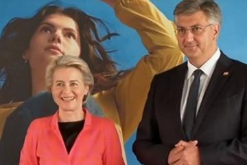 HRVATSKA SI JE VEZALA RUKE IZA OSMIJEHA URSULE I PREMIJERA KRIJE SE OZBILJNA DRAMA! Milijarde iz EU otkrivaju razlog za brigu: 'Hrvatska je europsko Kosovo!'