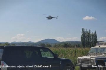 Rumunji u Varaždinu ukrali opremu vrijednu više od 200.000 kuna pa pobjegli u polje kukuruza: U potrazi sudjeluje pas tragač, dron i helikopter
