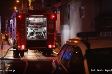 Strava na istoku Hrvatske: Žena (35) usred noći zapalila kuću u kojoj je spavala četveročlana obitelj