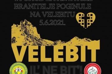 Pohod na Sveto brdo (Velebit) i misa zahvalnica za sve branitelje