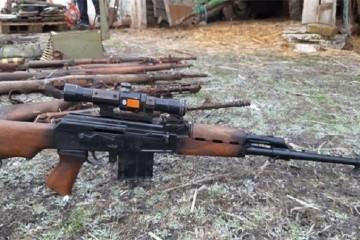 VUKOVAR – U još jednom uporištu srbijanske agresije pronađen ozbiljan arsenal u kojem je i snajper