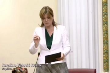 Vidović Krišto Božinoviću: Je li moguće da policija vidi kriminal, ali mora o tome šutjeti?