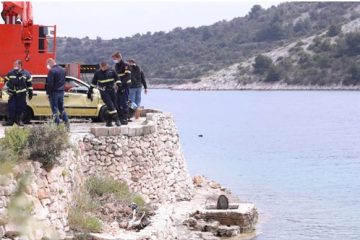 Poginuo pri slijetanju u more, stradao i biciklist