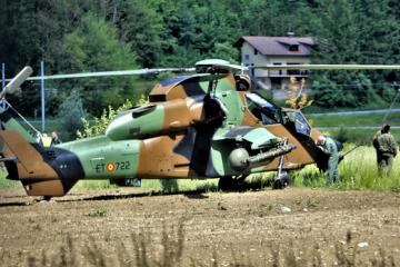 Španjolski vojni helikopter udario u dalekovod u Sloveniji, Krško i okolica ostali bez struje