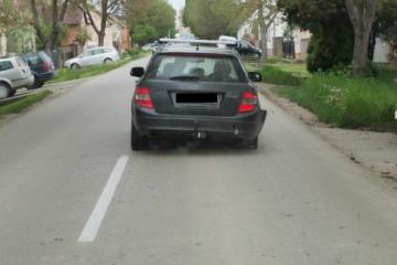 (FOTO) OVOG NEMA NI U FILMOVIMA: Pijan vozio Mercedes bez guma, a na kraju 'popio' i žestoku kaznu