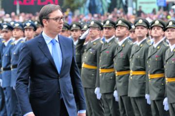 PROCURIO NEZAPAMĆEN SKANDAL! Vučić u sablasnom društvu: S kim je bio na komemoraciji za Oluju?