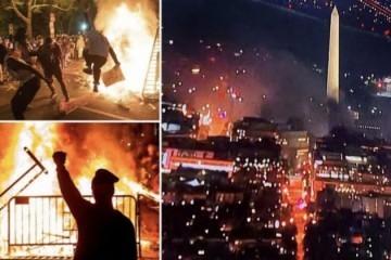 Neredi Antifa odnijeli preko 25 života, a šteta bila u milijardama; nisu ih nazivali teroristima