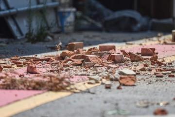 U centru Zagreba se urušio dio zgrade, na sreću nitko nije ozlijeđen