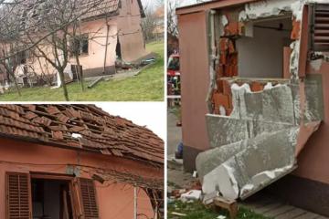 Eksplozija u Zagrebu! Oštećena jedna kuća, ozlijeđena vlasnica
