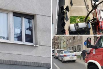 Zatvorio se u stan i prijeti, na prozoru natpisi: 'Imam bombe'; U istom ulazu živi i Kolinda
