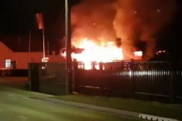 Kod Zaprešića su raznijeli bankomat i zapalili trgovinu?! 'Prije požara je baš grunulo'