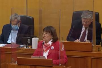 Zdravka Bušić: Skandalozno ponašanje Srbije prema hrvatskoj manjini