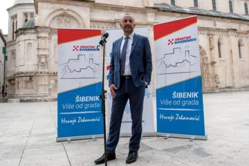 Hrvoje Zekanović najavio kandidaturu za šibenskog gradonačelnika