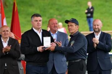Milanović na proslavi 30. godišnjice 103. brigade HV-a u Začretju