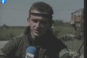 """Vukovarski branitelj pripadnik 1. Gardijske brigade """"Tigrovi"""" Zoran Gruber """"Grubi"""""""