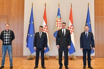 Milanović primio veterane: Pitanje nestalih mora se riješiti prije ulaska Srbije u EU. Znamo da naši susjedi znaju puno više o nestalima nego što pokazuju
