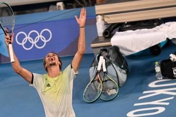 Nakon što je šokirao i dotukao Đokovića sjajni njemački tenisač Zverev postao je olimpijski pobjednik