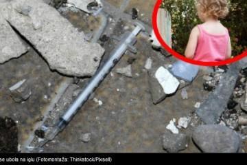 Osijek: Djevojčica se ubola na NARKOMANSKU IGLU u dvorištu vrtića!