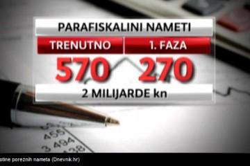 Država ukida stotine poreznih nameta!