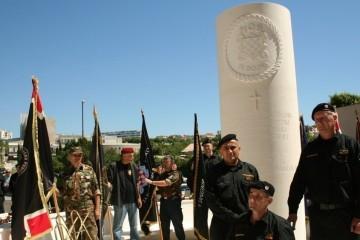 """U Splitu otvoren spomenik IX. bojni HOS-a: """"Pobijedili smo u Domovinskom ratu, pobijedit ćemo i u miru"""""""