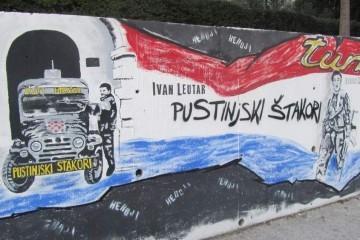 Mural u Vukovarskoj: Prvi put u Hrvatskoj ispisana himna Turbo voda