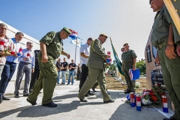Svečanost proslave 25 godina od osnivanja Jedinice specijalne policije Jastrebovi PU Šibenik