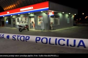 Vodnjan: Policija upucala pljačkaša benzinske postaje