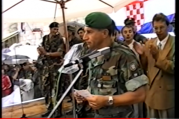 Sinj: Obilježena 26. obljetnica osnutka 126. elitne brigade i Dan neovisnosti…