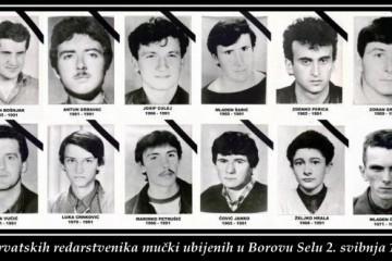 2. svibnja 1991. - u Borovu Selu ubijeno 12 hrvatskih redarstvenika