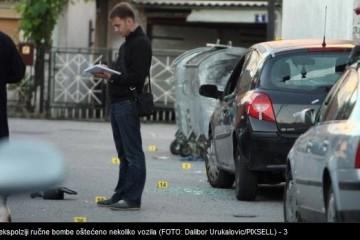 Zagreb: Eksplodirale dvije ručne bombe, oštećena četiri vozila i fasade kuća