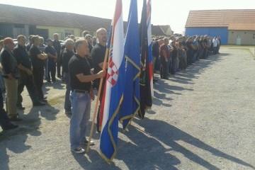 25. obljetnica osnutka 57. samostalnog bataljuna Zbora Narodne Garde Grubišno Polje
