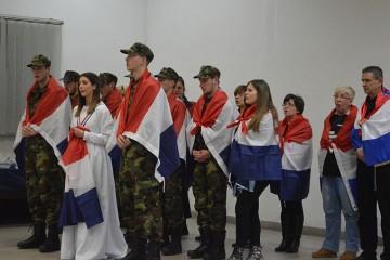 """Zadrani za Brođane, hrabrost i žrtva brodskih branitelja uklesana u križ, i u film """"Oni su Hrvatska"""""""
