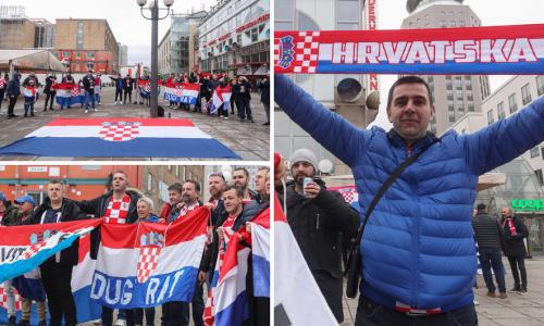 Hrvati su posvuda: Stockholm cijeli je za finale crveno-bijeli!