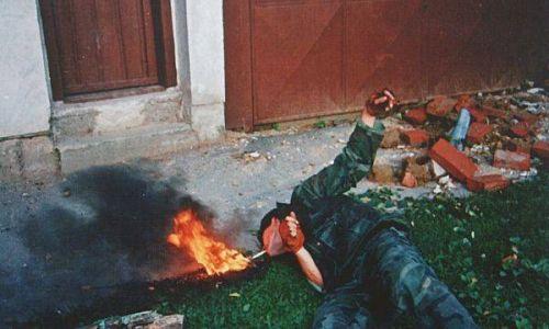 Pogledajte originalni videozapis s Trpinjske ceste u Borovu naselju koji je snimljen 18. rujna 1991.