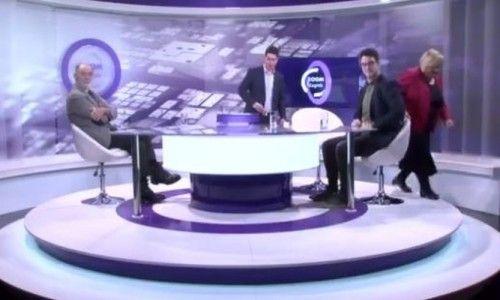 Pauk digao auto Anke Mrak Taritaš dok je gostovala na televiziji (VIDEO)