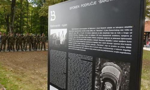 Obilježen Dan bjelovarskih branitelja na spomen-području Barutana
