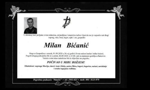 Posljednji pozdrav ratniku -  Milan Bićanić