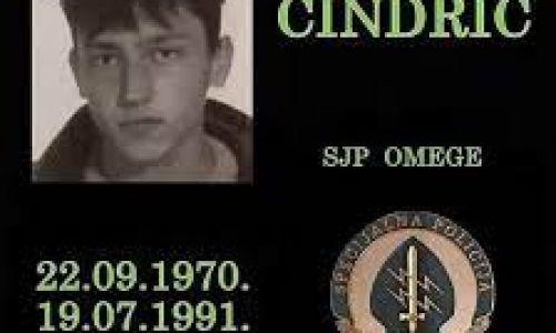 IN MEMORIAM Željko Cindrić (22.09.1970. - 19.07.1991.)