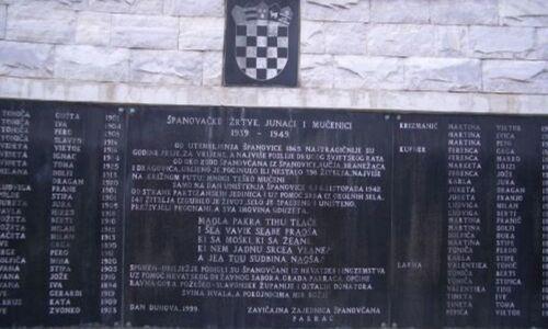 24. veljače 1992. Španovica (Pakrac) – vraćeno ime selu kojem su partizanski krvoloci zatrli spomen