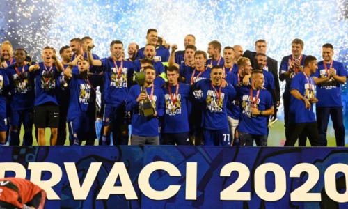 Dinamo pobjedom proslavio naslov prvaka