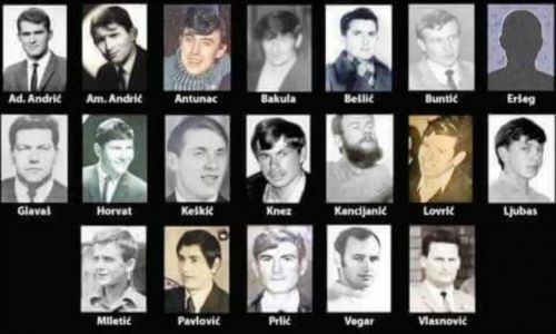 20. lipnja 1972.g. Bugojanska skupina ušla na podrućje SFRJ