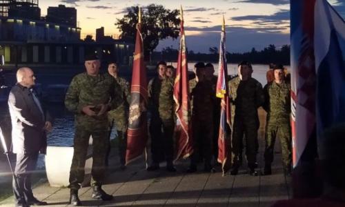 Pripadnici Gardijske oklopno-mehanizirane brigade na ultramaratonu 'Od velikog do malog Vukovara'
