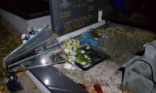 Vandali oskvrnuli katoličko groblje u Tuzli, otvorene i grobnice