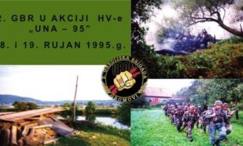 """2. gbr Gromovi u akciji """"Una-95"""""""