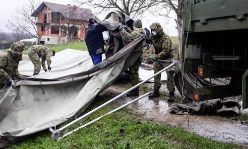 Hrvatska vojska u potpori gradovima Petrinji i Sisku