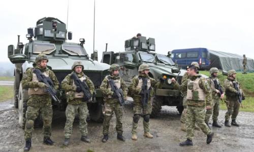 U Gašincima održana vojna vježba 'Stabilnost 21/1'