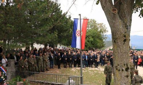 Obilježena 26. obljetnica stradanja hrvatskih vitezova na Vrdima iznad Mostara