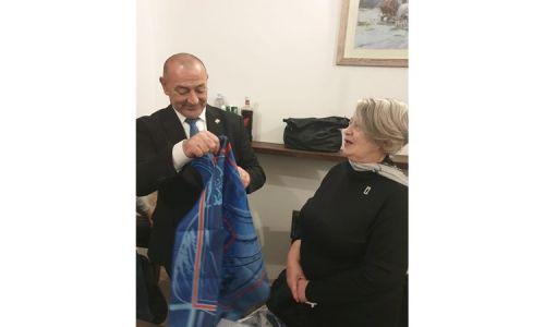 Majka Jean-Michel Nicoliera s ministrom Medvedom u Vukovaru
